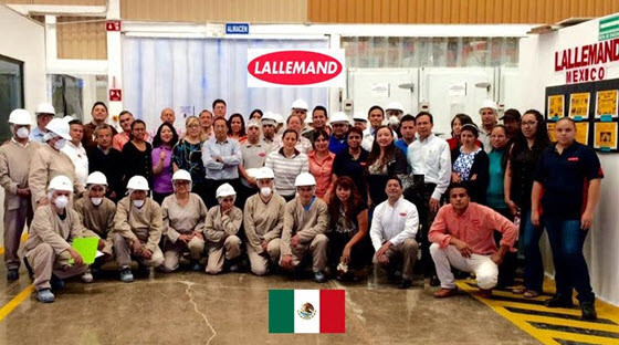 Great news from Lallemand Mexico