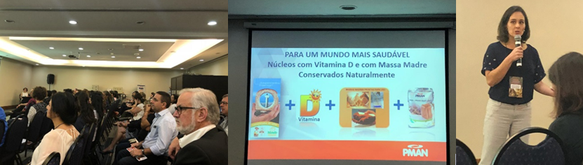 Lallemand Baking VitaD Yeast Presented to the Brazilian Society of Food and Nutrition