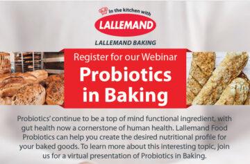 Webinar: Probiotics in Baking